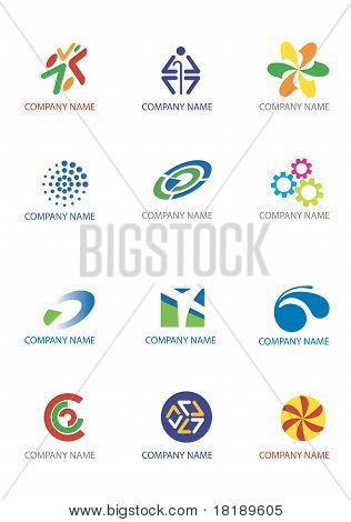 Company icons and symbols