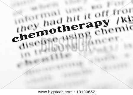 Chemotherapy (the Dictionary Project)