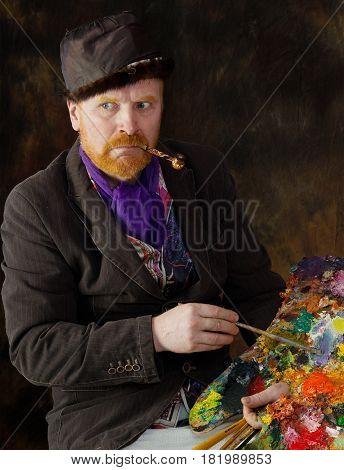 Vincent Van Gogh Portrait Of