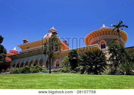 Palacio de Monserrate en la Villa de Sintra, Lisboa, Portugal