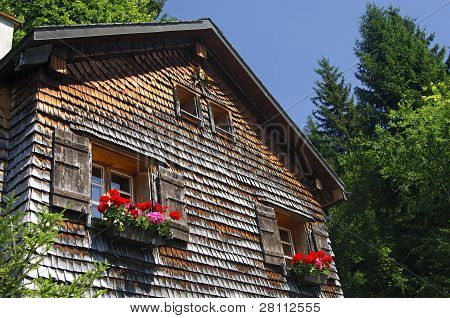 Old Swiss chalet