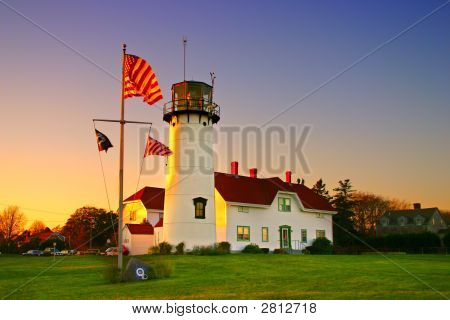 Chatham Lighhouse, Cape Cod..