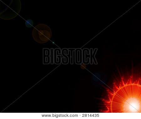 Small Sun Flare