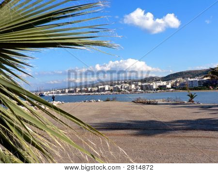 Rethymnon, Crete Shoreline