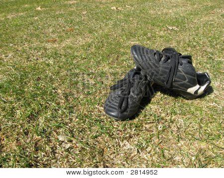 Cleats On Field