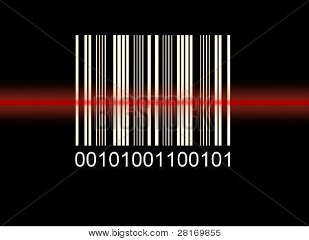 Scanned barcode
