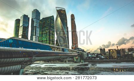 Moscow City Skyscraper Moscow International