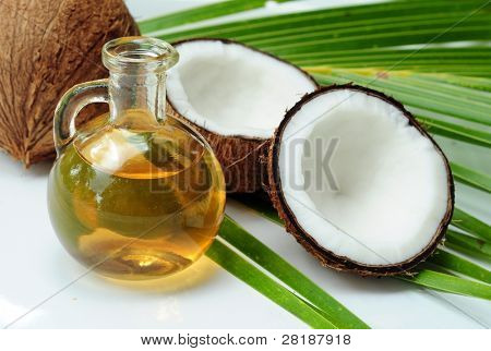 Aceite de coco para terapia alternativa
