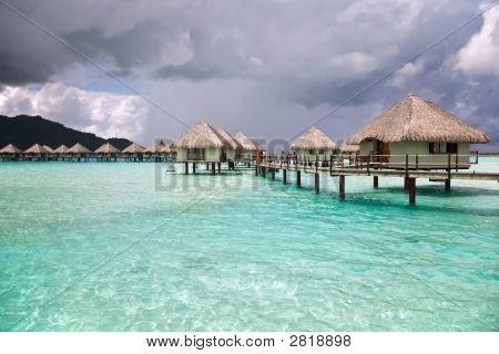 Over-Water Bungalows.