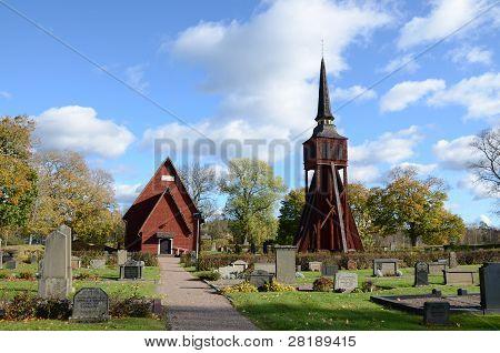 Ulrika church in Sweden