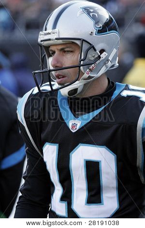 Panthers kicker #10 Olindo Mare