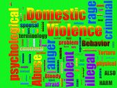 Domestic Violence Abuse poster