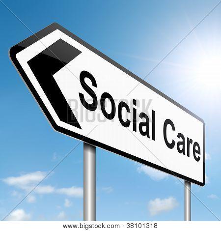 Social Care Concept.