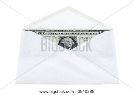 Envelope With Dollars