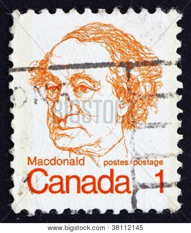 Postage stamp Canada 1973 Sir John A. Macdonald