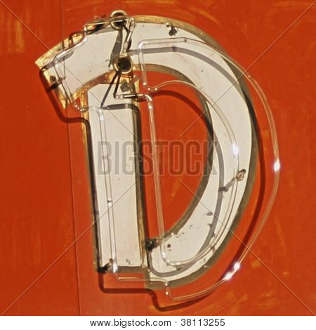Painting Of The Letters D
