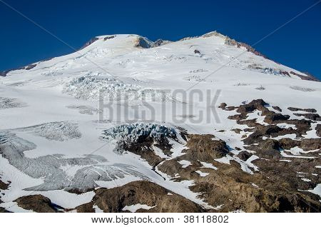 Cascade Mountain peak in the summer