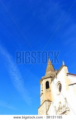 Church of S�o Jo�o Baptista, Tomar, Portugal