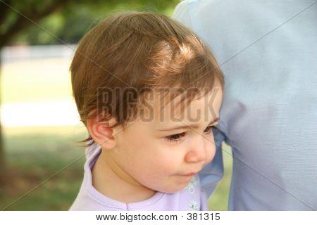 Baby Girl Unhappy