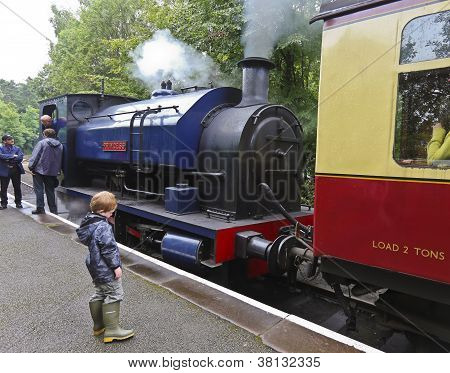 A Shot Of The Princess Steam Train