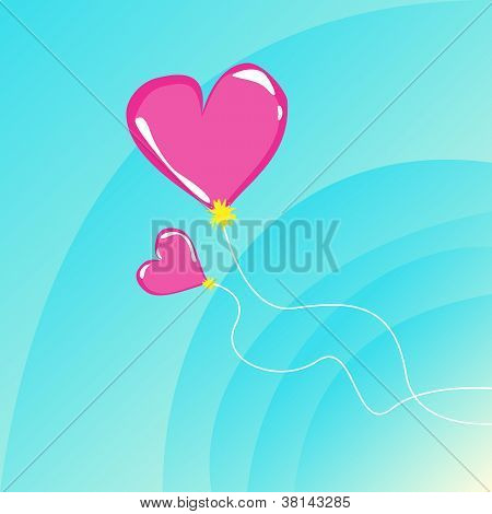 Romantic Flying Balloons