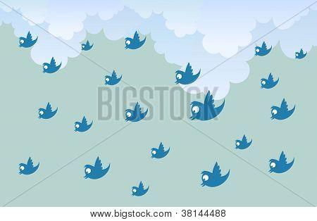Tweet Rain