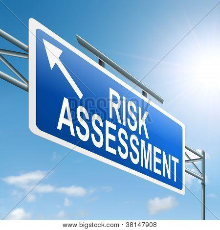 Risk-Assessment-Konzept.