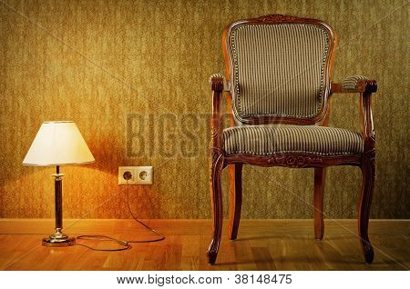 Lamp And Armchair