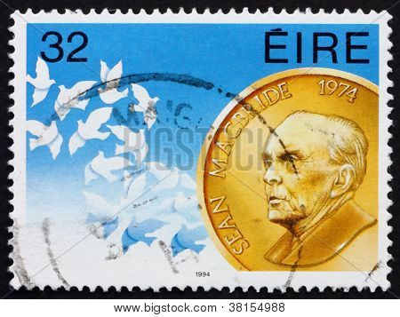 Postage stamp Ireland 1994 Sean McBride, Statesman
