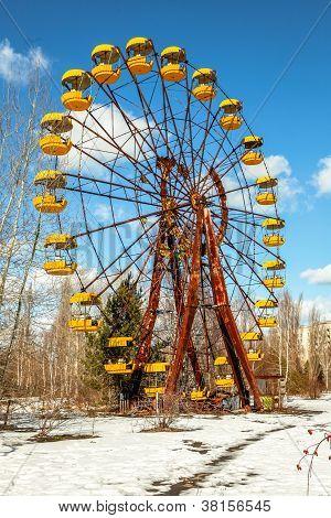 The Ferris Wheel Of Pripyat