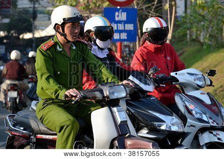 Polizei in vietnam