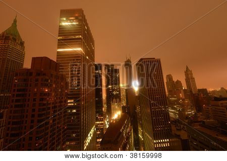 Lower Manhattan Following Power Outage