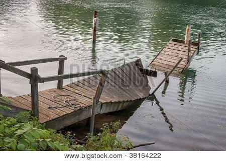 Broken Boat Dock