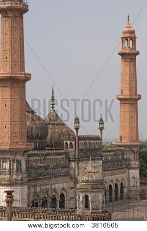 Ancient Mosque In Lucknow, India