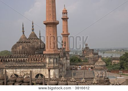 Ancient Mosque, Lucknow, India