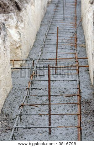 Continuous Footing Foundation