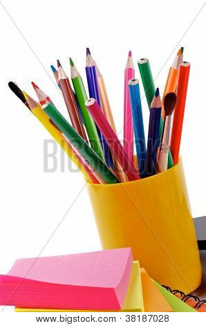 Pencils And Sticks