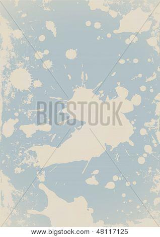 Fundo amassado (salpicos, blob, respingos, manchas, splat, mancha, respingo). Mancha