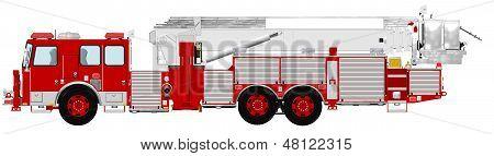 Aerial Platform Fire Truck