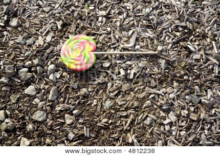 Dropped Lolly-pop