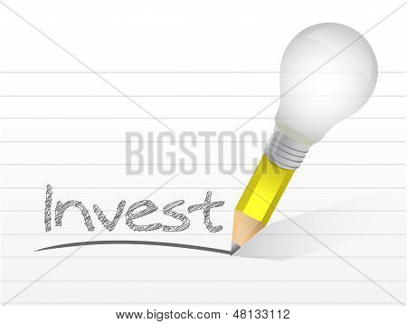 Invest Message Illustration Design