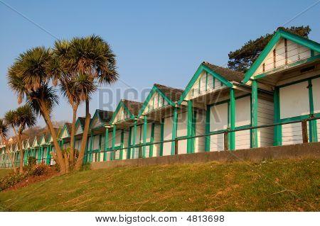 Beach Huts At Langland Bay