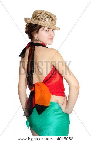 Women Dressed In Pareo