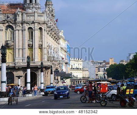 Street scene in Havana