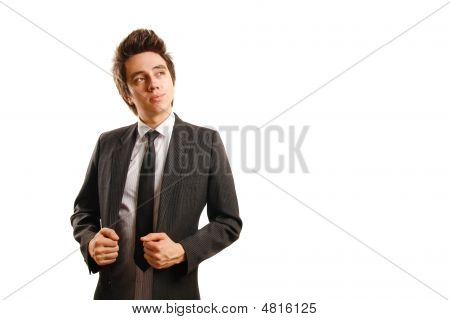 Confident Businessman