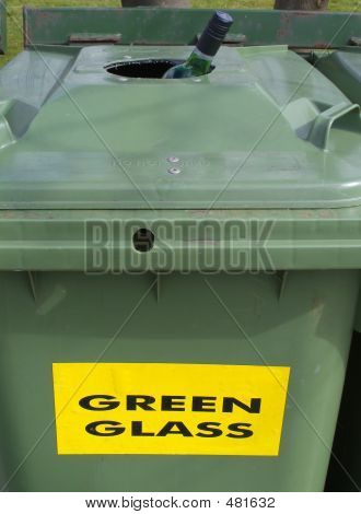 Waste Glass Bin