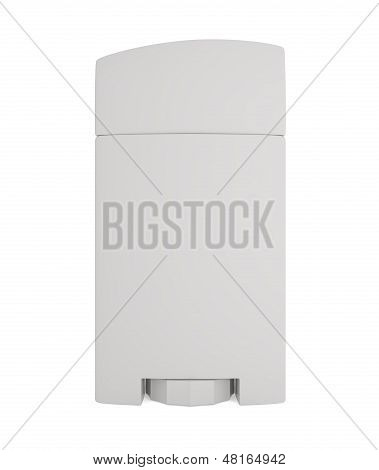 Man's Solid Deodorant Isolated On White