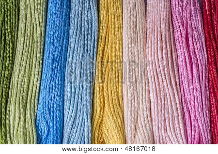 Multicolored Floss