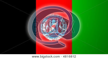 Flag Of Afghanistan Internet Illustration