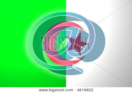 Flag Of Algeria Internet Illustration